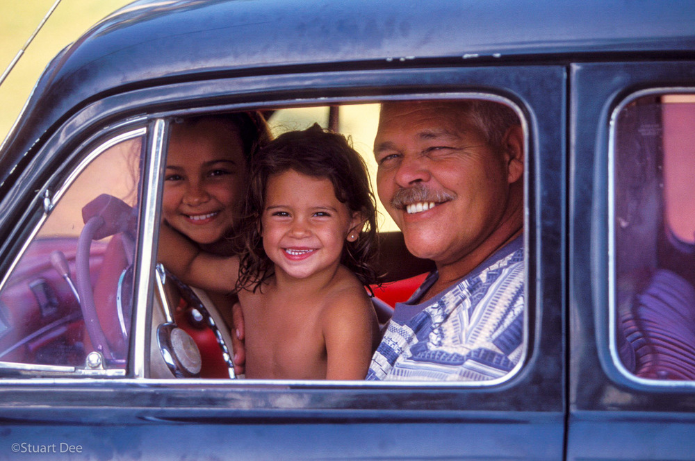 Fathers & Daughters, Varadero, Cuba