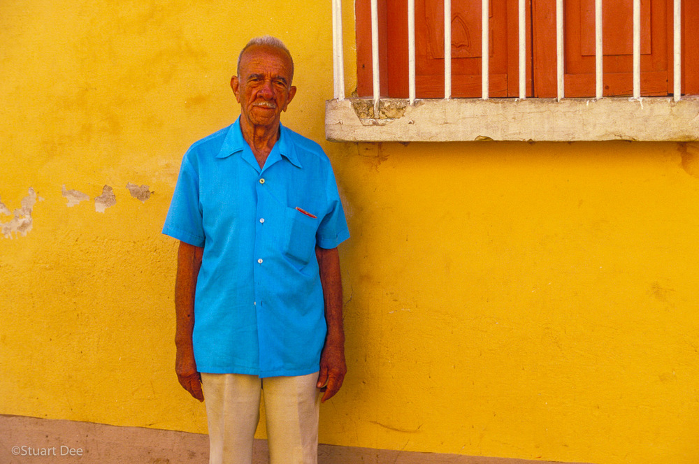 Old Man By Window, Trinidad, Cuba