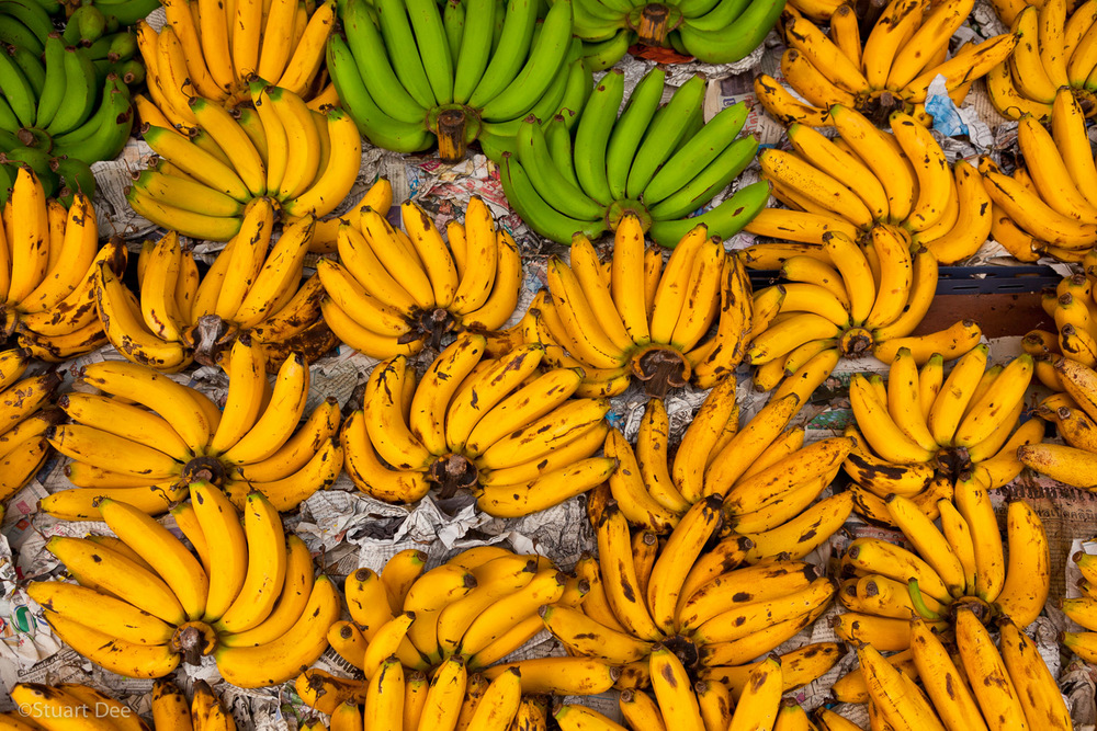 Bananas, Pratu Chiang Mai market, Chiang Mai, Thailand
