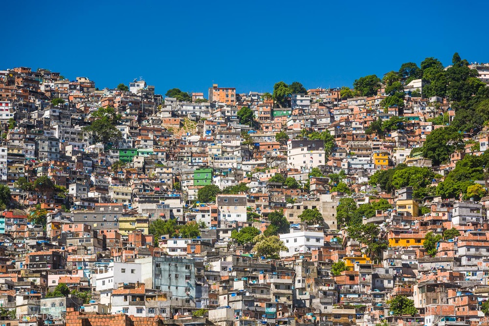 Favela Rocinha, Rio de Janeiro, Brazil. 