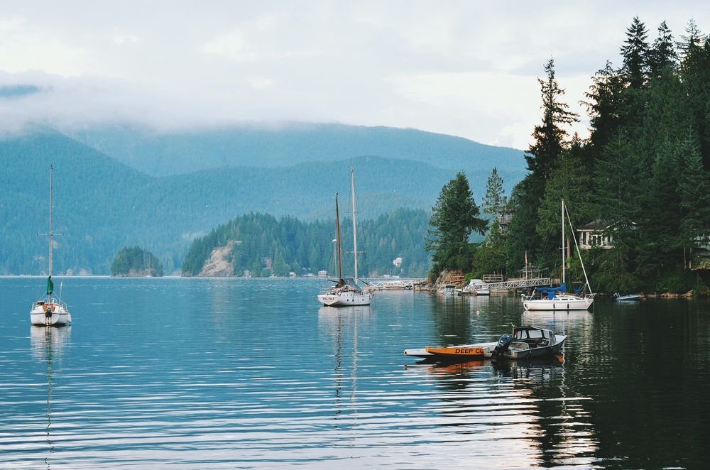 Where I live. And why I live here. © Martina Scholtens. Deep Cove, BC.