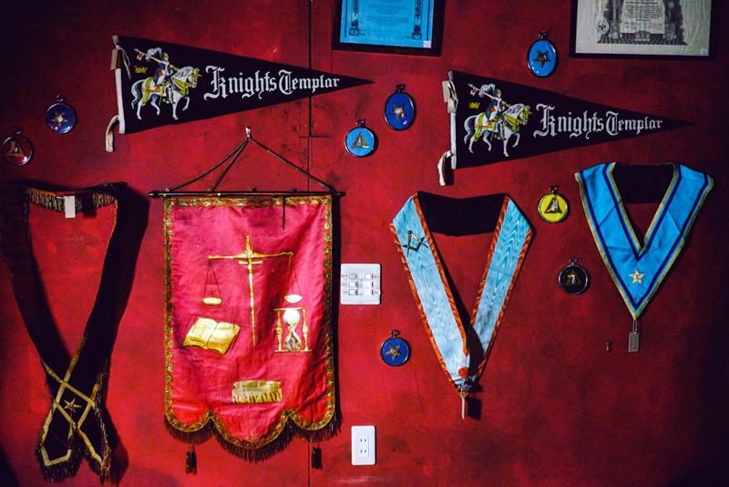 Knights templar pennant