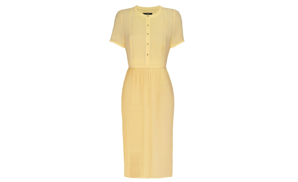 House of Fraser, Yanny, Pintuck Tee Sleeve Pleated Dress £120