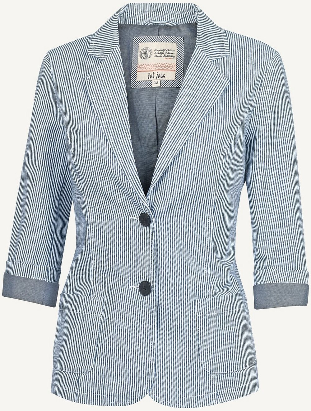Fat Face, Striped Blazer £72