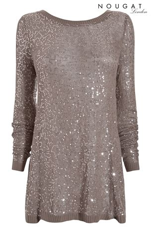 Nougat, Sequin Top £85