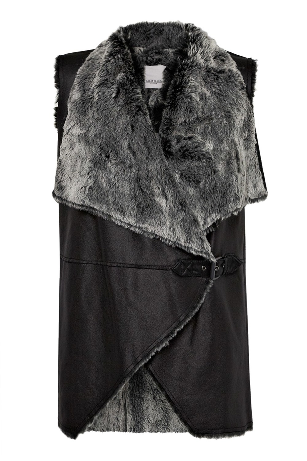 Great Plains, Baa-Baa Faux Fur Gilet £100