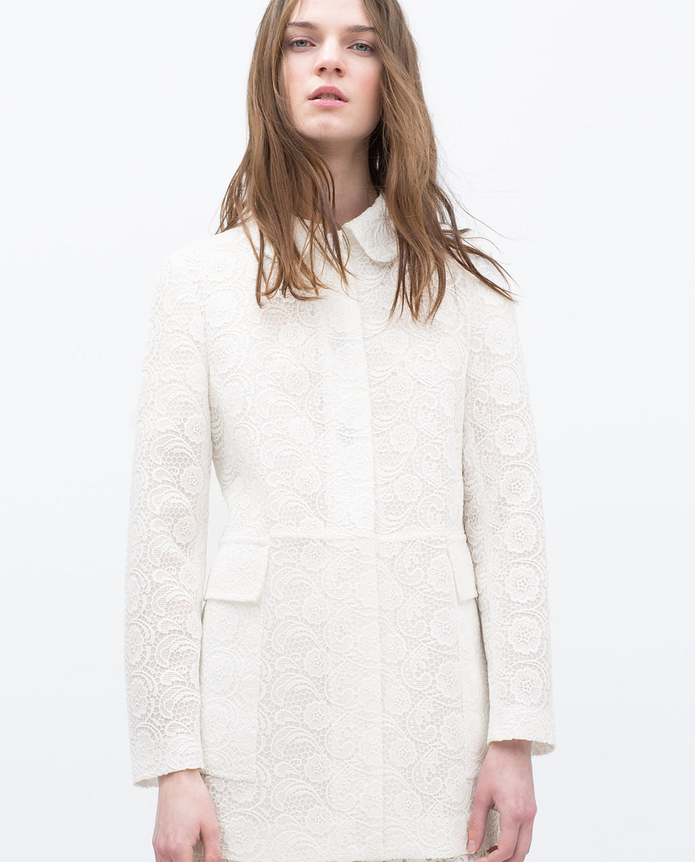 Zara, Lace Coat £99.99