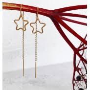 Star Long Drop Earring, £24