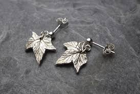 Tiny Silver Hop Leaves, £32