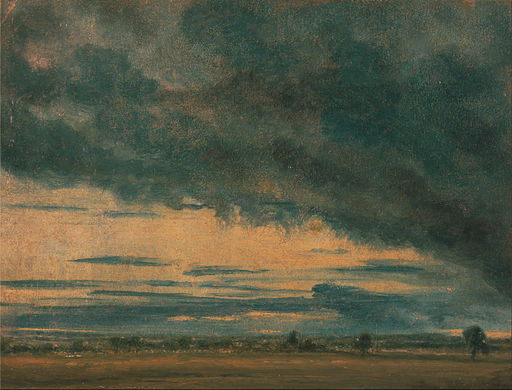 Cloud Study, John Constable [Public domain], via Wikimedia Commons