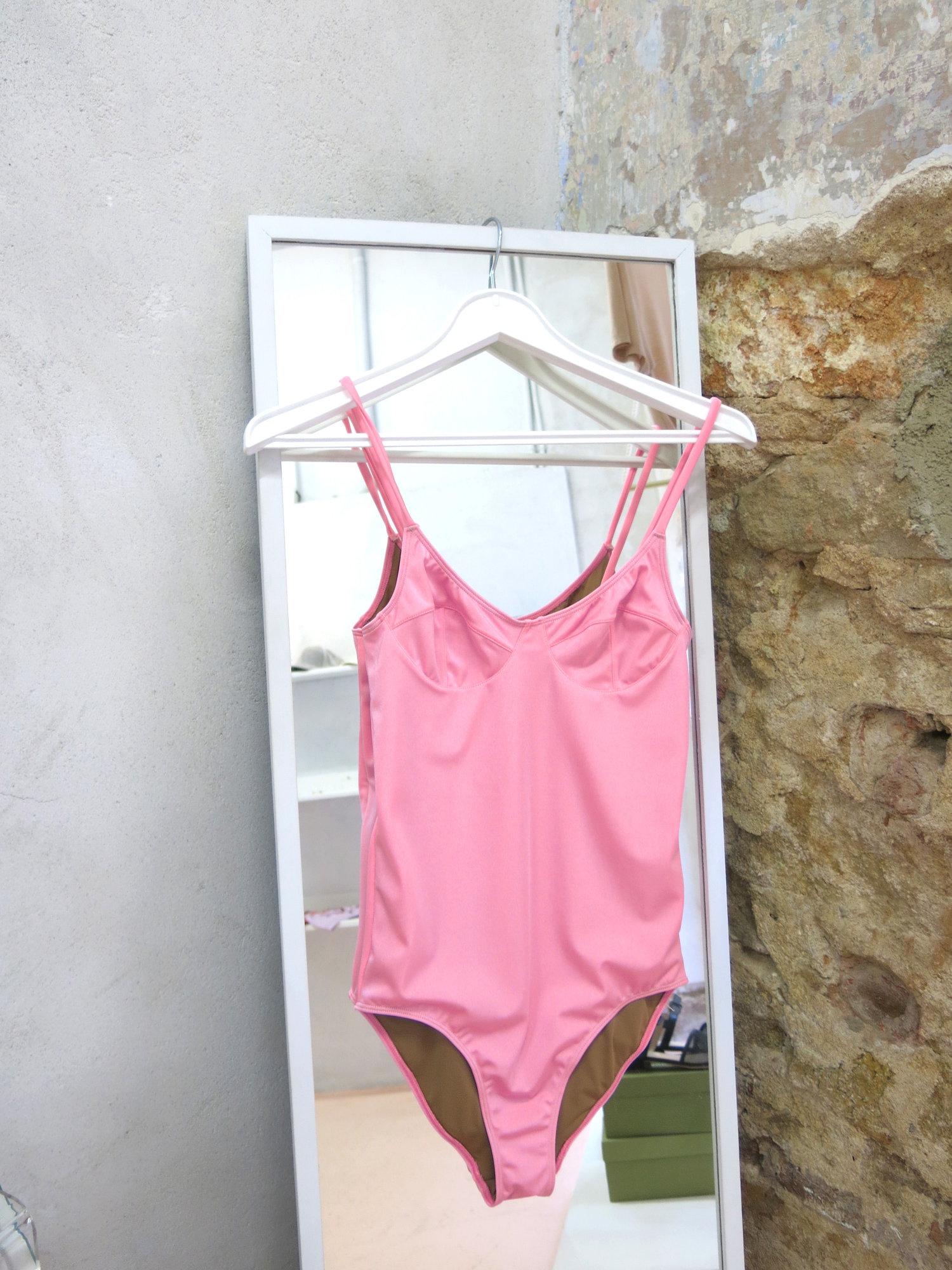 94f57a64a87 Soft Swimsuit – Shiny Pa Sunprotective / Mom pink — emmapardos