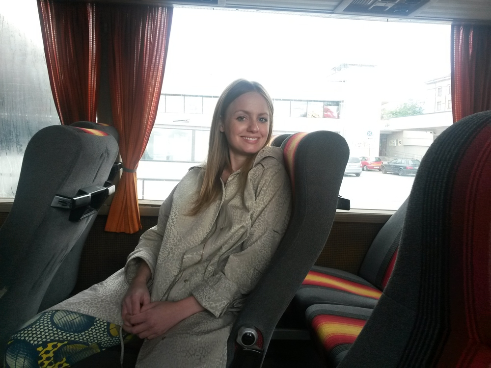 Feeling adventurous and going by bus to Trakai island to try to find an exhibition