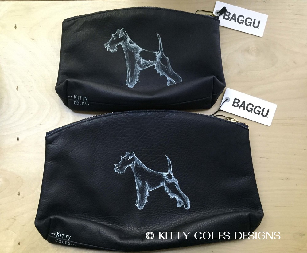 Kitty Coles Designs custom Baggu bags