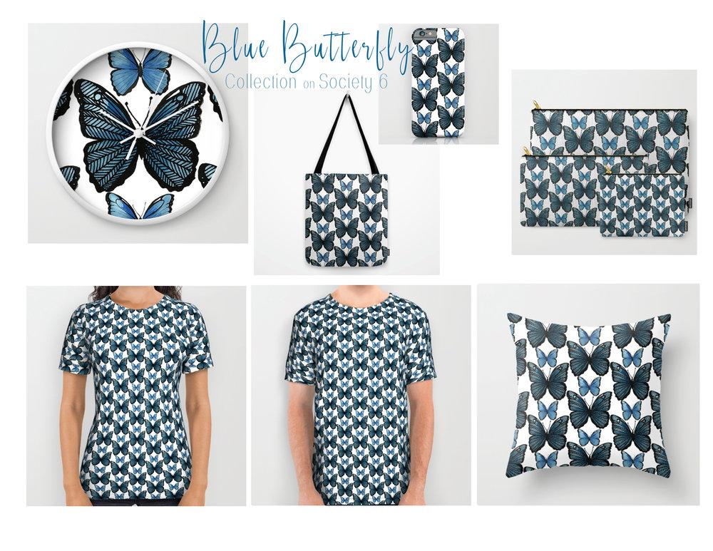 Blue Butterflies KCD