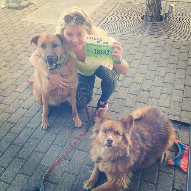Got my bib… Not I just gotta #RUN. #austinmarathon–posted by pawticular on Instagram