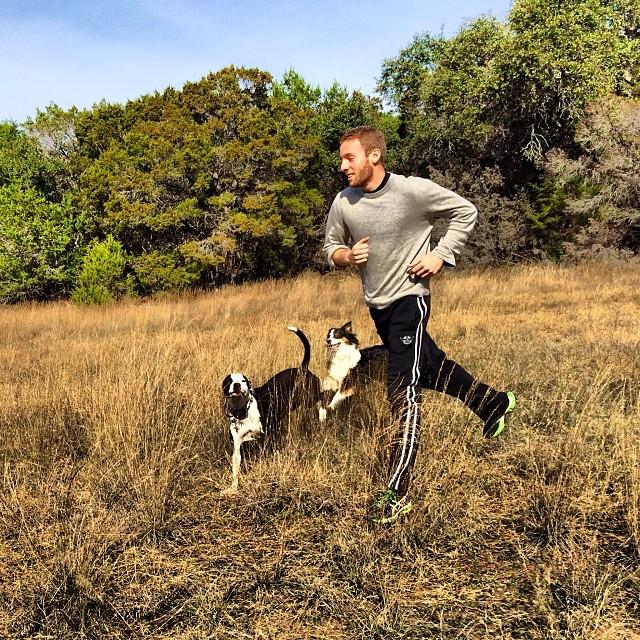It's take your brother to hike day #thenakeddog #austin #hiking #boarding #training #atx #dogsofaustin #dogsofinstagram–posted by thenakeddog on Instagram