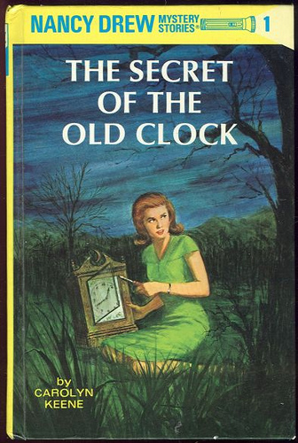 The Secret of the Old Clock , by Carolyn Keene