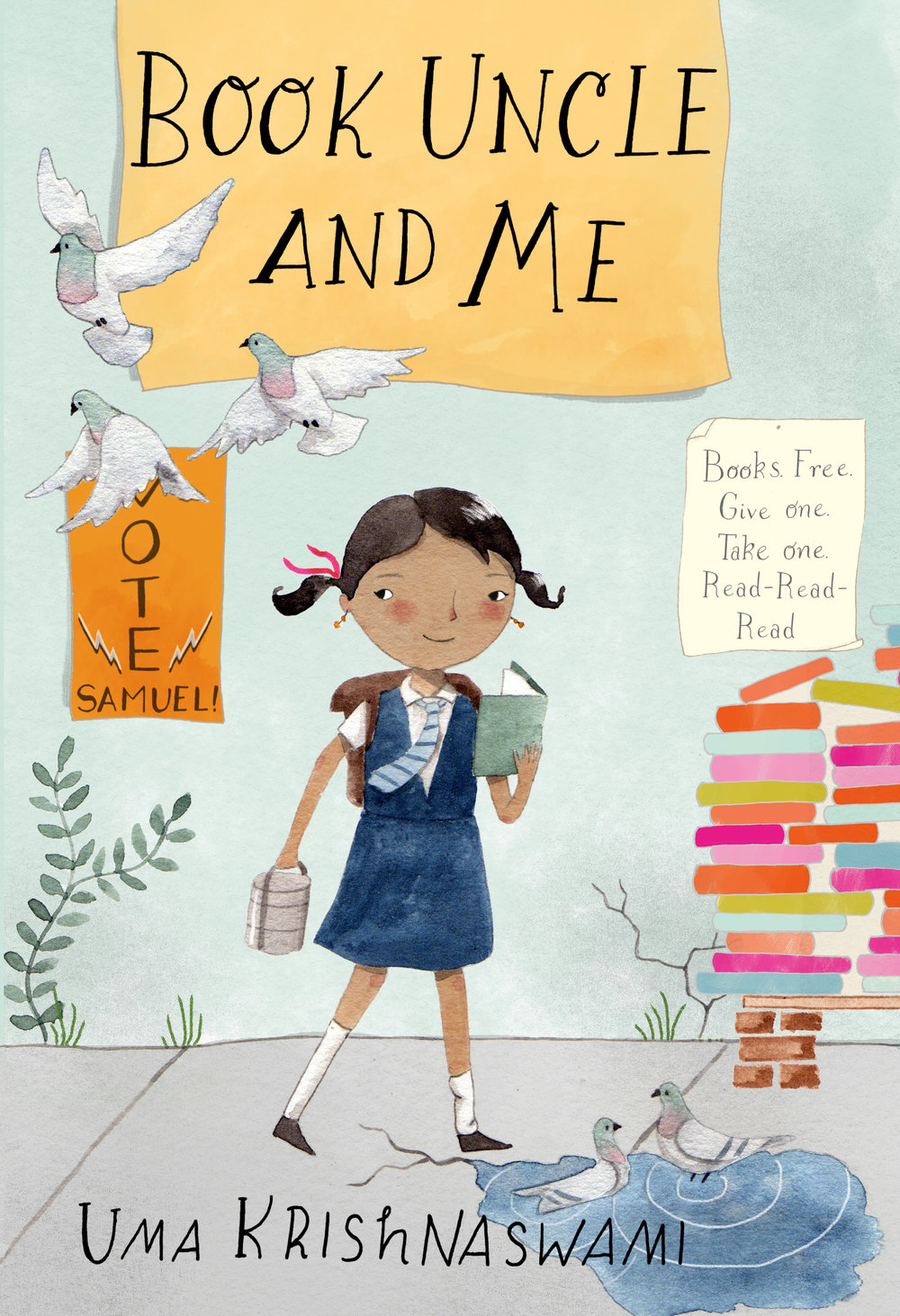 Book Uncle and Me, by Uma Krishnaswami
