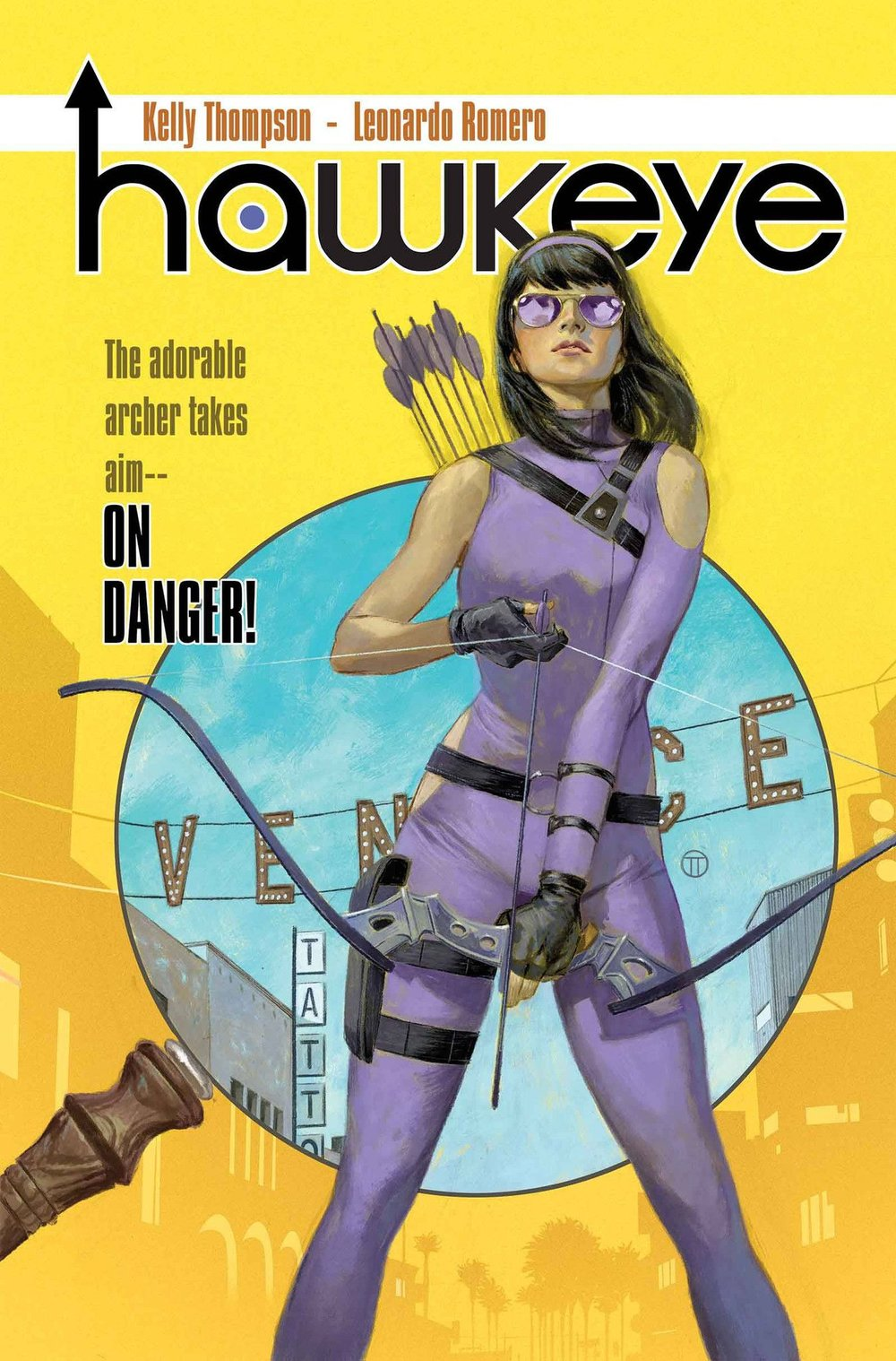 Hawkeye #1: Cover
