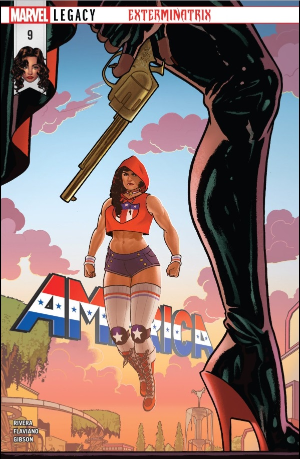 Cover: America #9