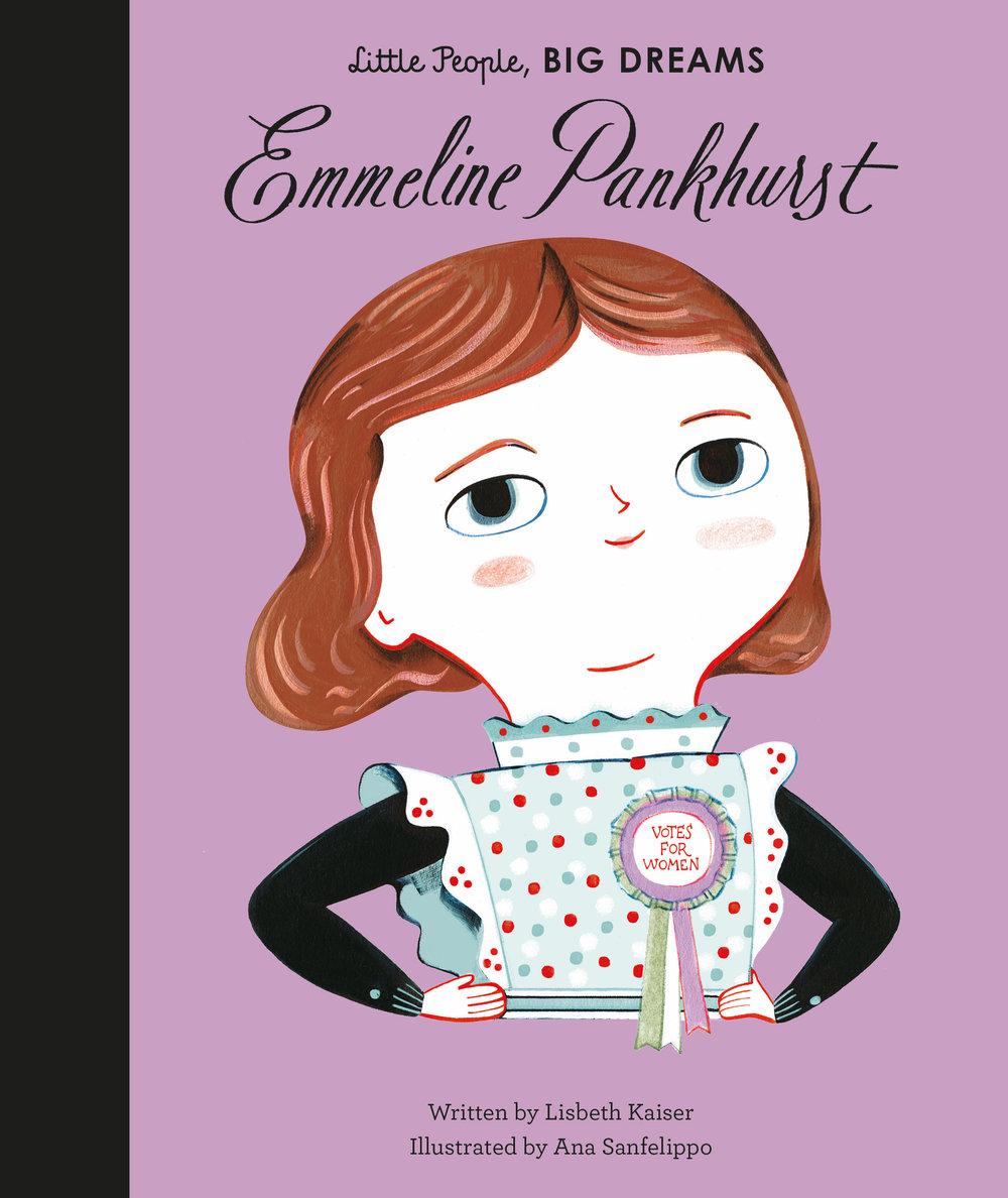 Emmeline Pankhurst, by Lisbeth Kaiser
