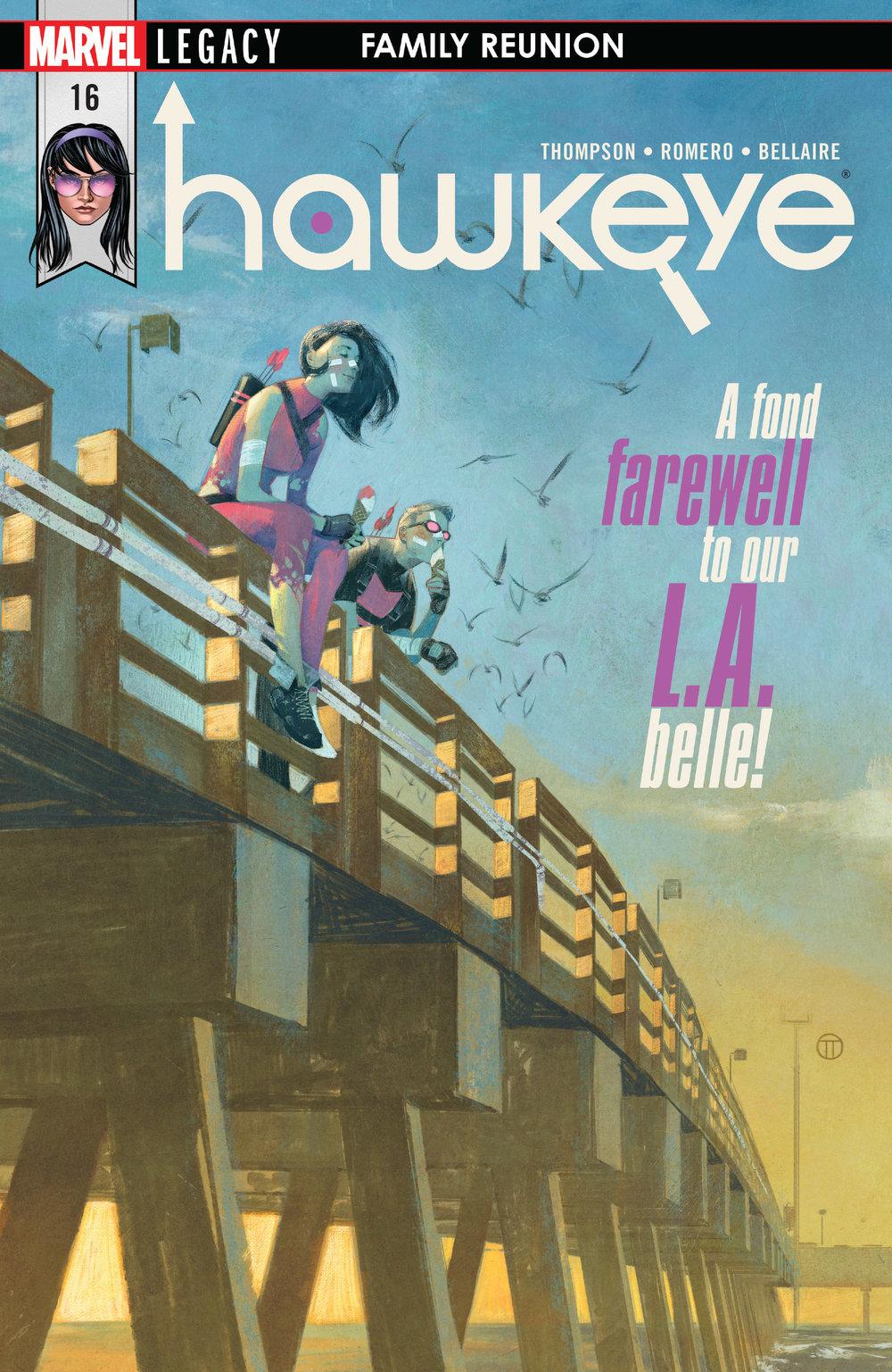 Cover, Hawkeye #16