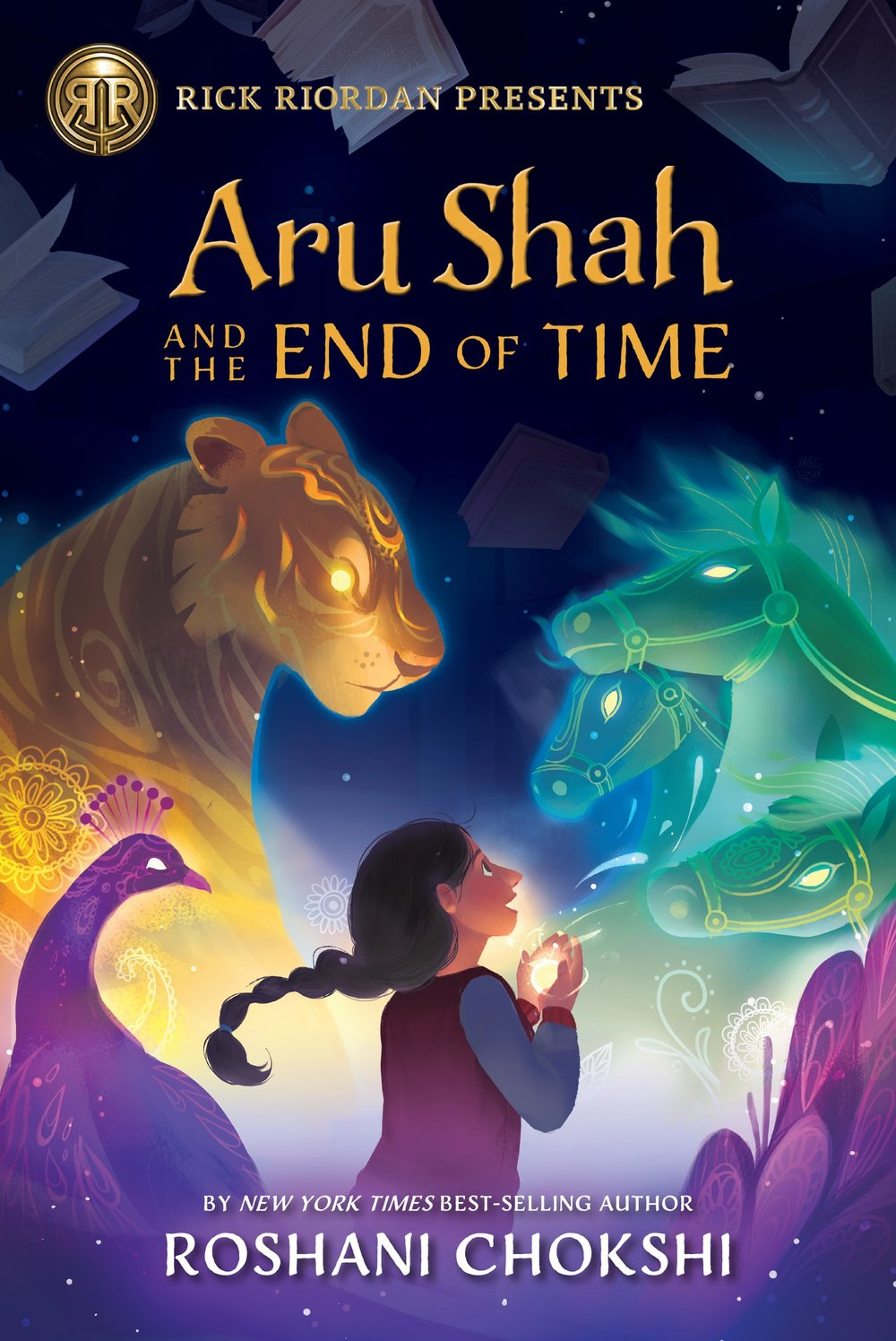 Aru Shah and the End of Time , by Roshani Chokshi