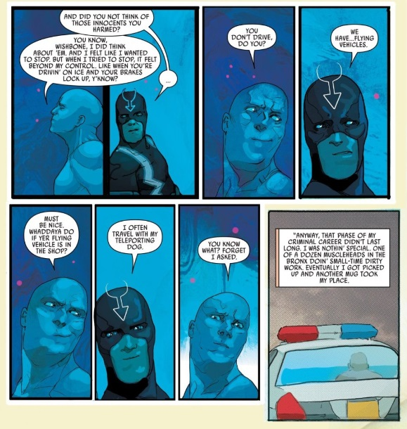Making friends in Black Bolt #4