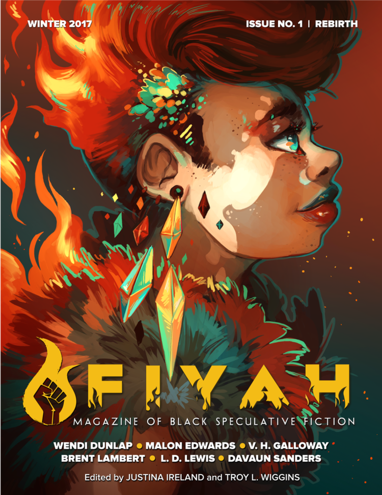 Cover of FIYAH #1