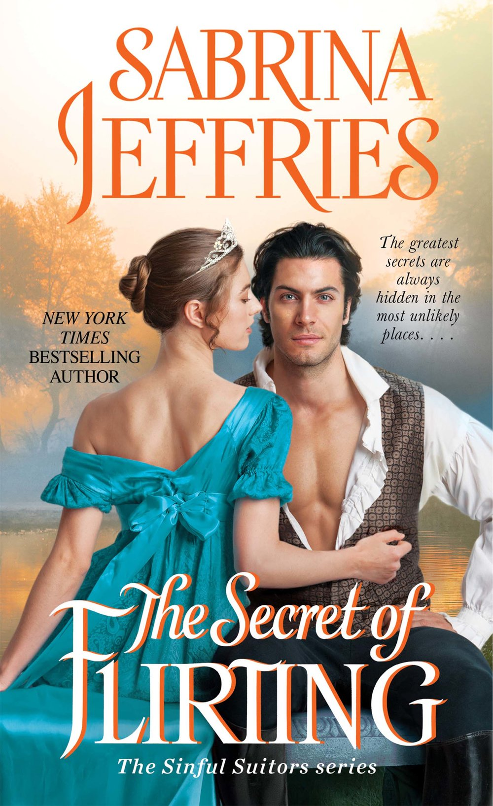 The Secret of Flirting , by Sabrina Jeffries