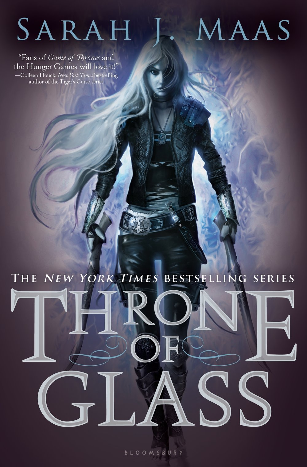 Throne of Glass , by Sarah J. Maas