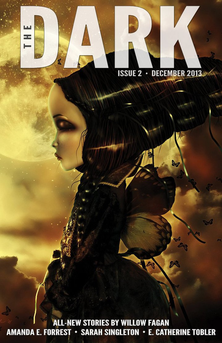 Cover of The Dark, Issue #2. Art by Beth Spencer.
