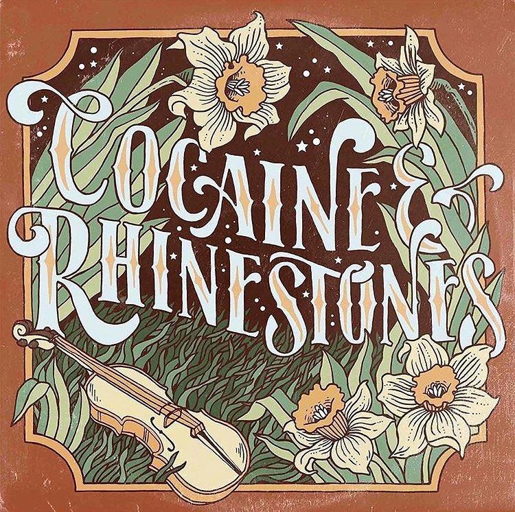 Cocaine & Rhinestones  logo