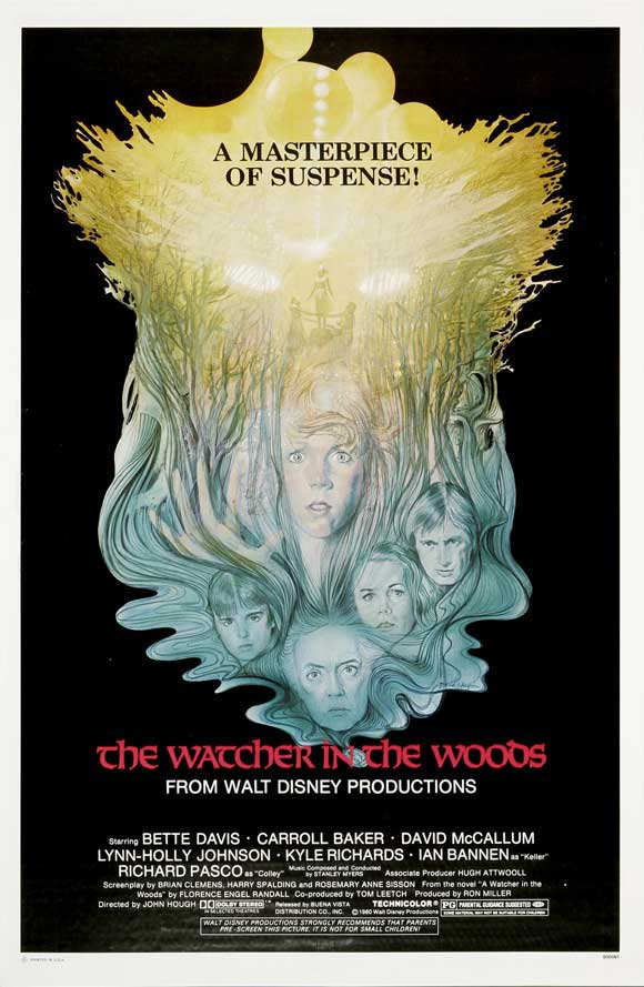 The Watcher in the Woods  movie poster!