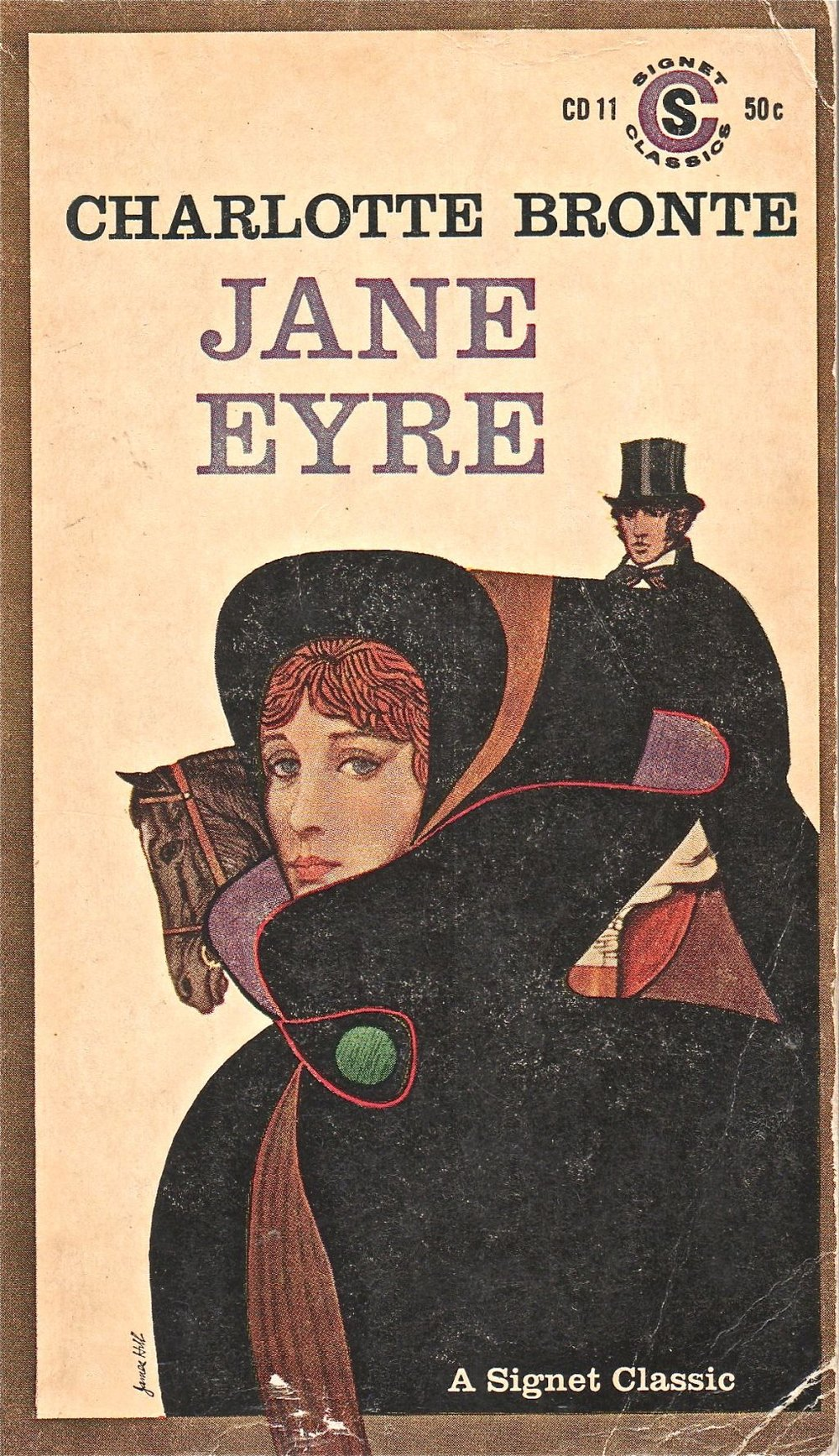 Jane Eyre , by Charlotte Brontë