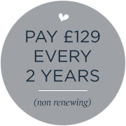 Two year subscription £129