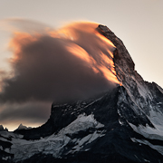 Burning Peak - Matterhorn, Switzerland