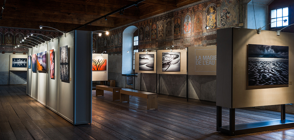 Exhibition Rafael Rojas at Chillon Castle - Switzerland 1