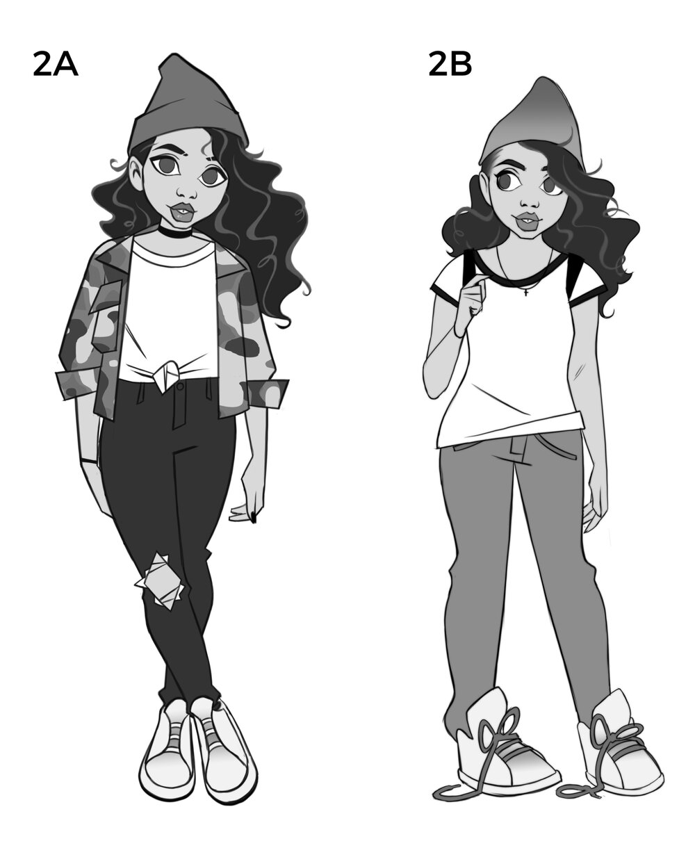 Alessia Cara Design Explorations