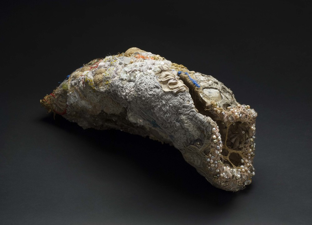 Sandra Sheehy Untitled, 2011 Mixed media/Fabric  /  22.5 x 12 x 9 inches (57.2 x 30.5 x 22.9 cm)  /  SSe 71