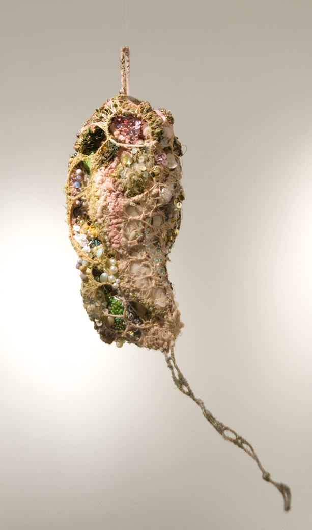 Sandra Sheehy Untitled, 2011 Mixed Media/Fabric 16 x 5 x 4 inches  /  40.6 x 12.7 x 10.2 cm  /  SSe 70