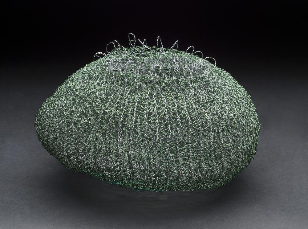 Mieko Kawase    Air Basket  , 2012 Wire 4.33 x 6.69 x 6.69 inches / 11 x 17 x 17 cm / MKe 5