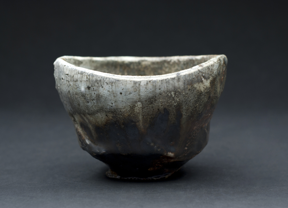 Jeff Shapiro    Chawan  , 2012 Ceramic 4 x 5.5 x 5.2 inches   10.2 x 14 x 13.2 cm   JSh 49