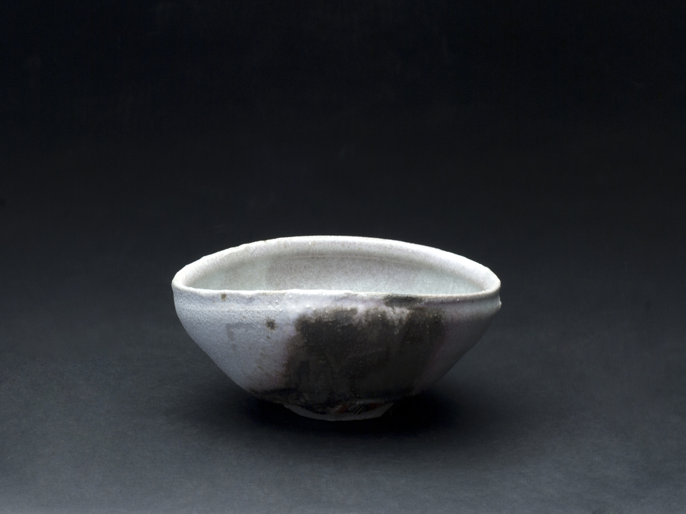 Jeff Shapiro    Chawan  , 2012 Ceramic 2.75 x 6.5 x 5.625 inches   7 x 16.5 x 14.3 cm   JSh 47