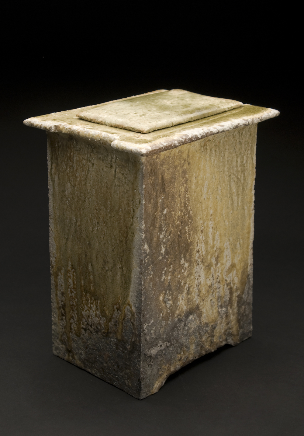 Yoh Tanimoto    Toubako (Large)  , 2011 Fired Ceramic 10 x 8 x 6 inches  /  25.4 x 20.3 x 15.2 cm  /  YTa 1