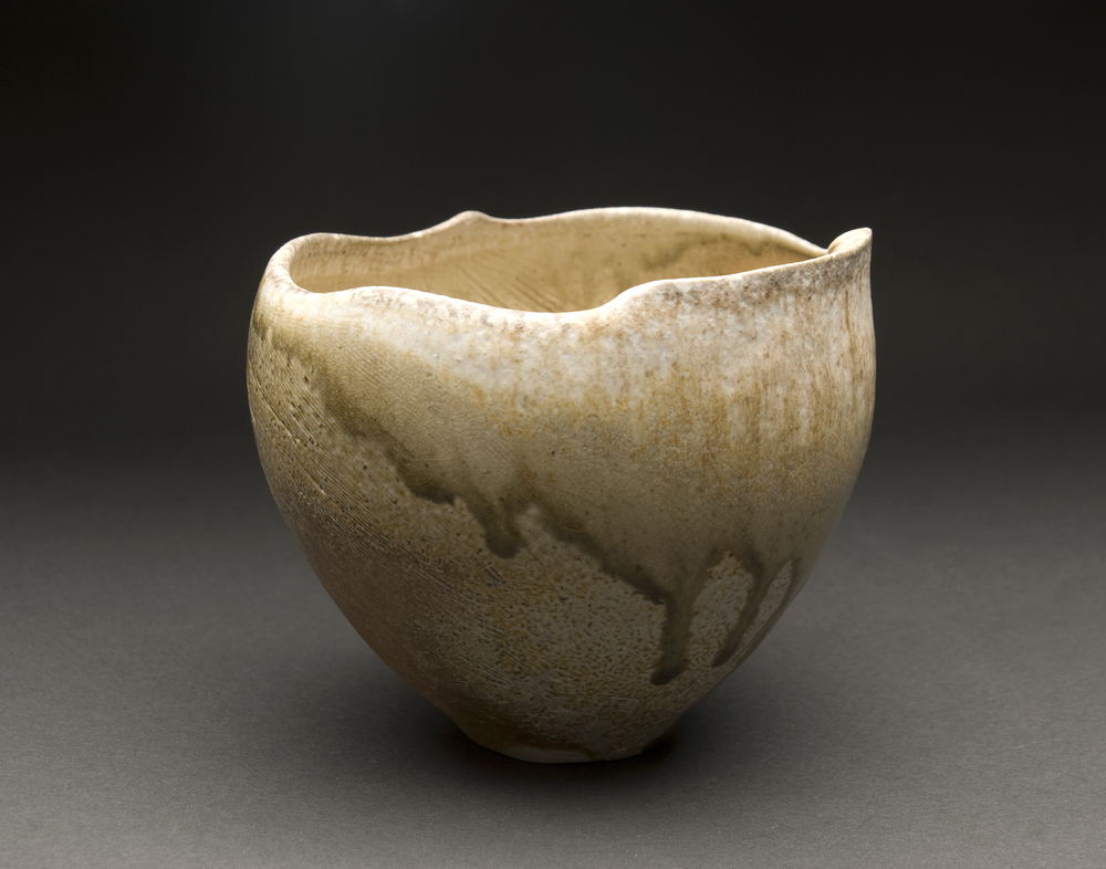 Yoh Tanimoto    Iga Bowl (Kaze no Oto)  , 2011 Fired Ceramic 5 x 5.75 x 5.75 inches  /  12.7 x 14.6 x 14.6 cm  /  YTa 5