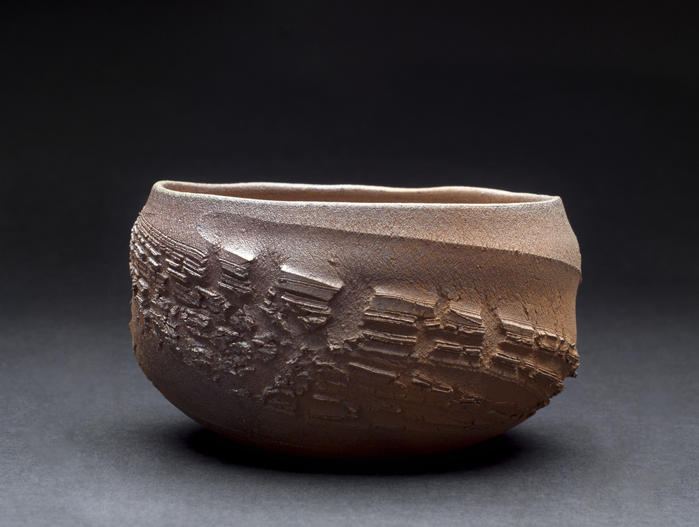 Tom Charbit    Valles Marineris  , 2011 Stoneware, wood fired at 1300 Celsius (16hrs), Train Kiln 2.5 x 4.5 inches   6.4 x 11.4 cm   TCh 1
