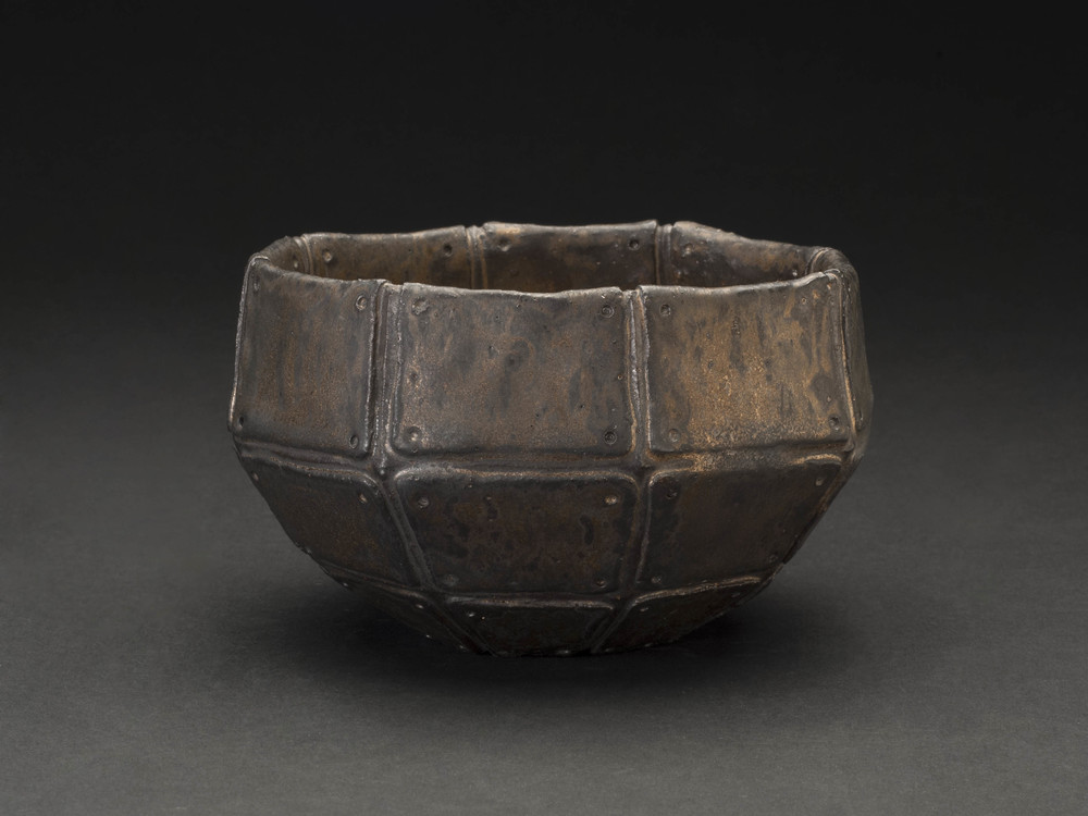 Takashi Tanaka    The Armor of Moonlight (Tea Bowl)  , 2014 Ceramic 2.75 x 5 x 5 inches  /  7 x 12.7 x 12.7 cm  /  TTa 12