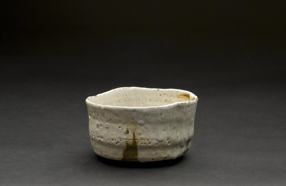 Mike Weber    Matcha Chawan  , 2012 Woodfired clay 3 x 5.25 x 5 inches  /  7.6 x 13.3 x 12.7 cm  /  MWe 8