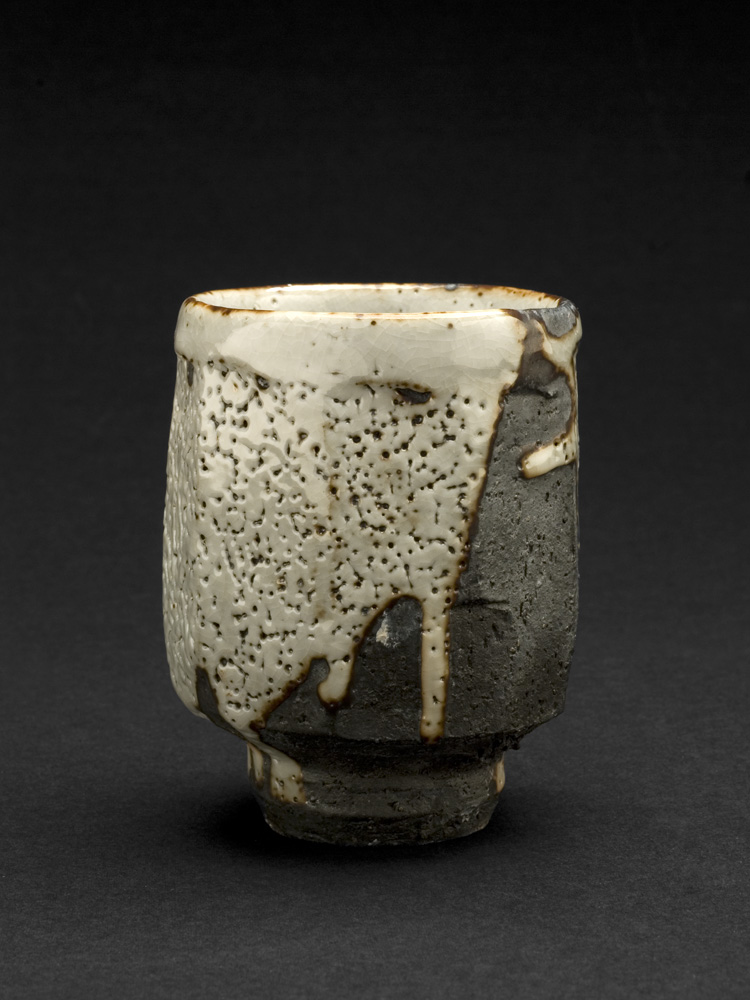 Lisa Hammond    Shino Yunomi  , 2013 Ceramic 3.75 x 2.75 x 2.75 inches 9.5 x 7 x 7 cm LHa 3